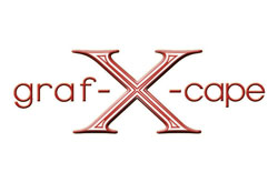 graf-X-cape graphic design marketing logo