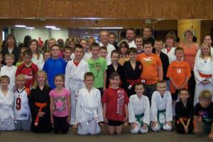 karate class school