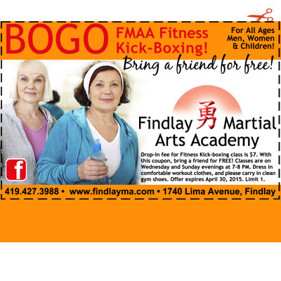 findlay martial arts academy coupon save money