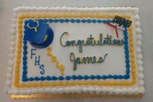 sheet cake graduation party