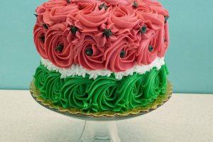summer picnic theme cake