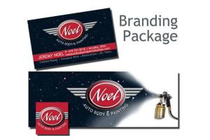 branding packages logo facebook business card