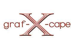 graf-X-cape graphic design marketing logo