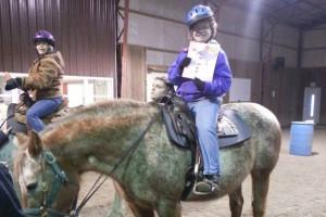 horse back riding girl