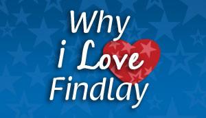why i love findlay logo