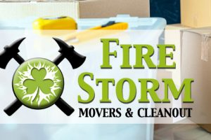 FireStorm movers cleanout cover pic