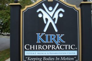 kirk_chiropractic_findlay_sign_logo